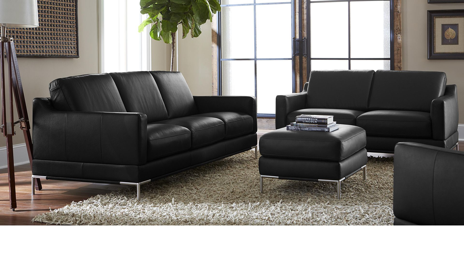 Denver by Natuzzi Editions Sofa & Sectionals