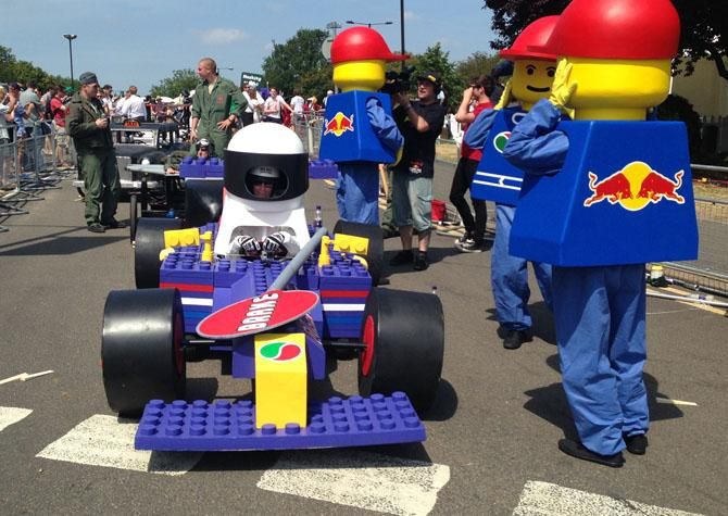It looks fast, but not even Sebastian Vettel could get this thing to win.