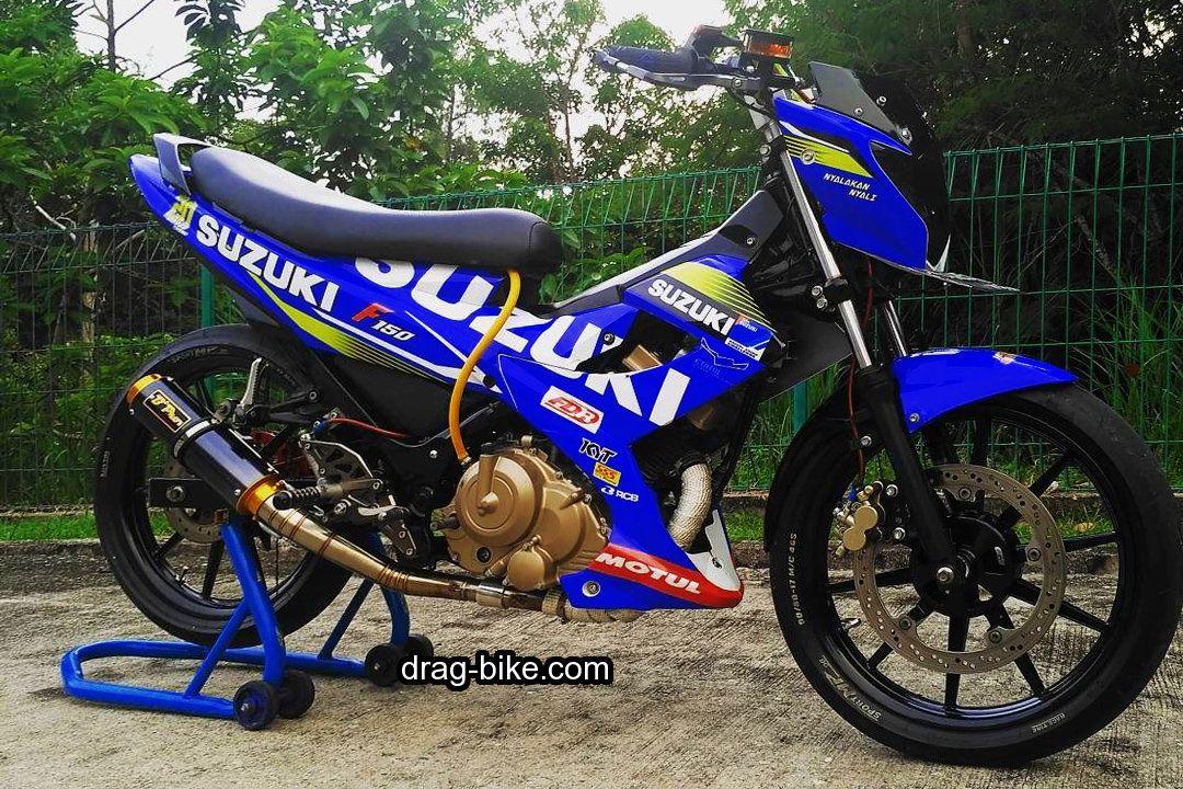 Modif Sport Satria Fu Road Race Motor Balap Pembalap Motor