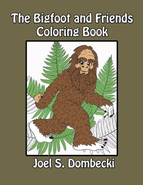 the bigfoot and friends coloring book products pinterest