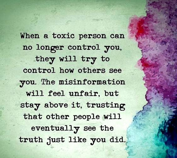 Image Result For When A Toxic Person Can No Longer Quote Sayings