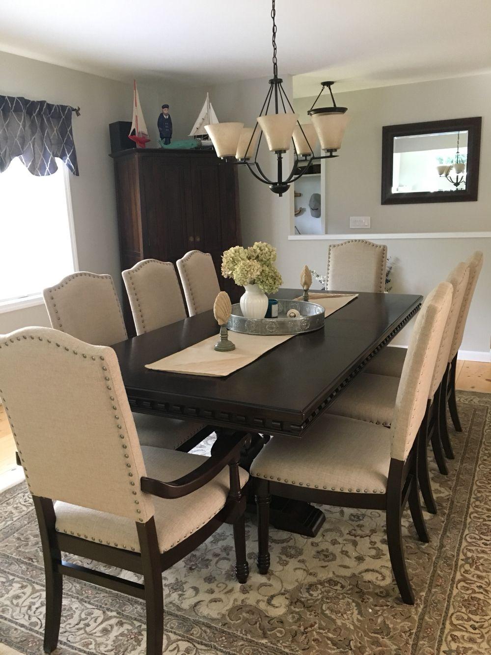 After.. Love Bob\'s furniture! Beautiful Dining Set | Dining ...
