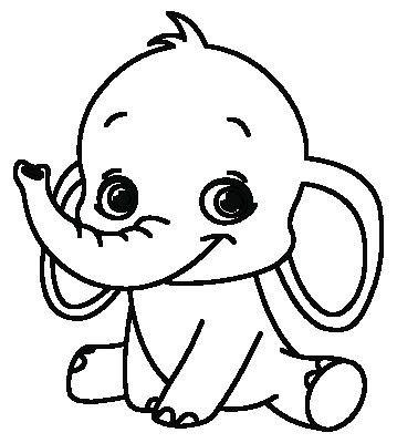 Kleurplaten Baby Olifantjes.Baby Olifant Scanncut Elephant Stencil Baby Elephant En Wax