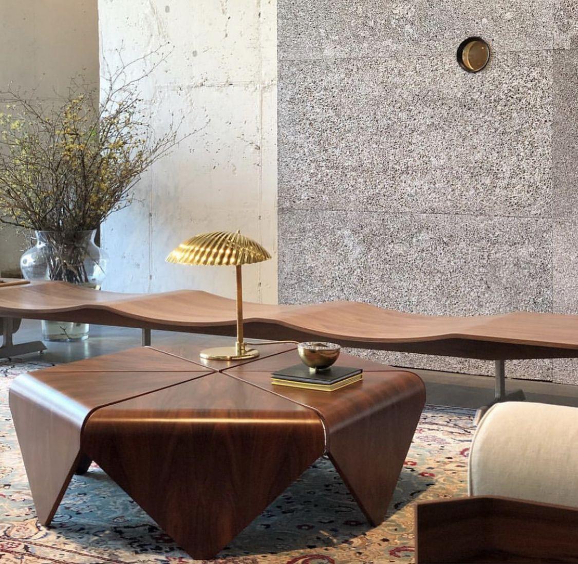 Petalas Coffee Table And Onda Bench By Jorge Zalszupin Available At Espasso Midcentury Modern Brazilian De Furniture Design Decor Interior Design Center Table [ 1098 x 1125 Pixel ]
