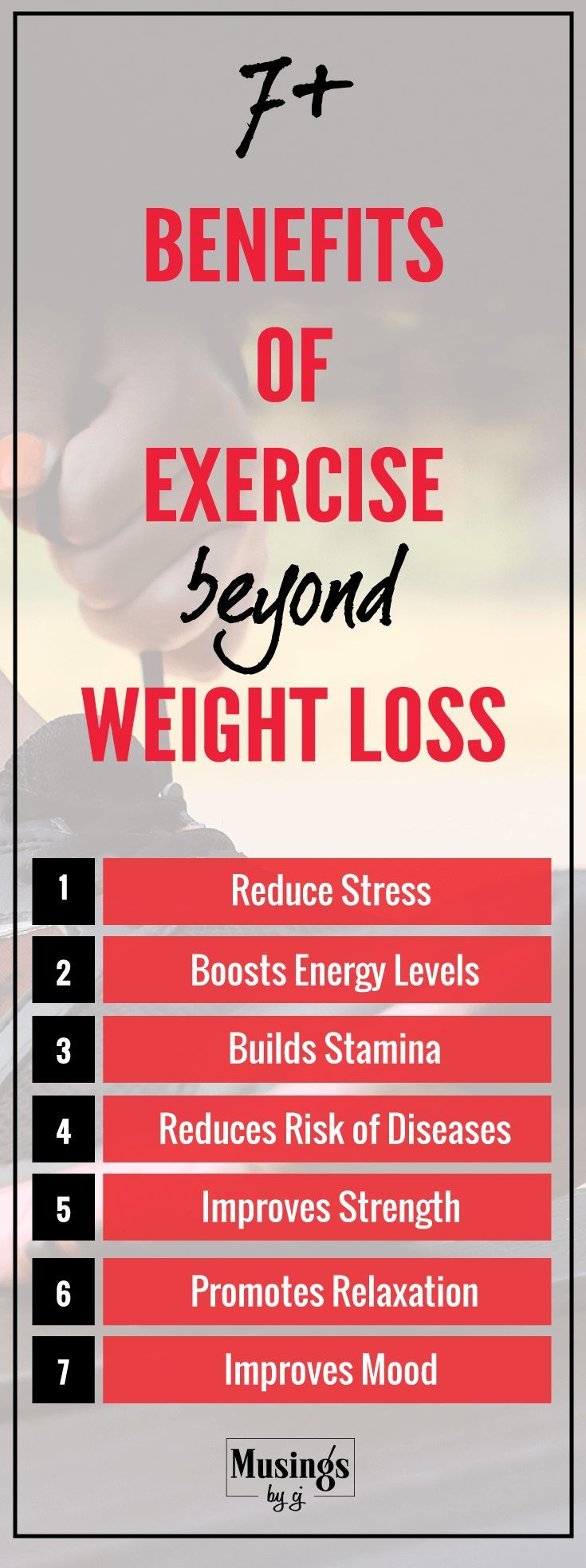 Benefits of Exercise beyond Weight Loss  Routine Benefit and
