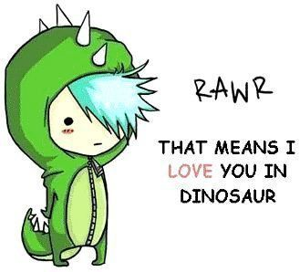 Rawr That Means I Love You In Dinosaur 3 Marshall Lee Emo Love