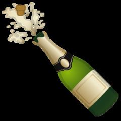 Bottle With Popping Cork Emoji Bottle Emoji Love Heart Images