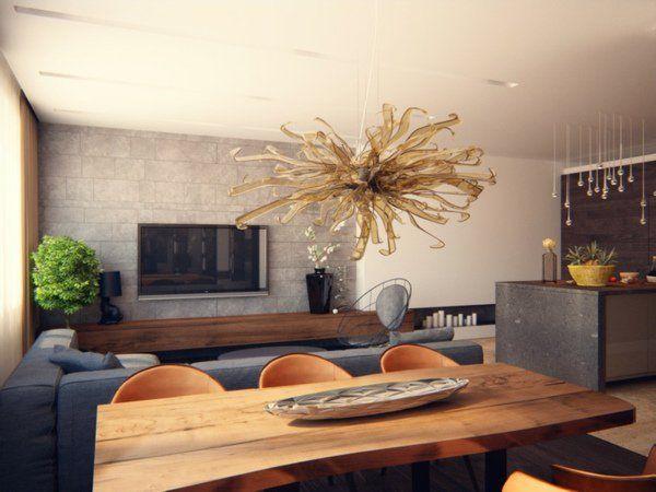 Salon moderne design en 47 idées par Alexandra Fedorova ...
