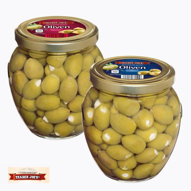 Aldi Nord Griechische grüne Oliven Zeytin