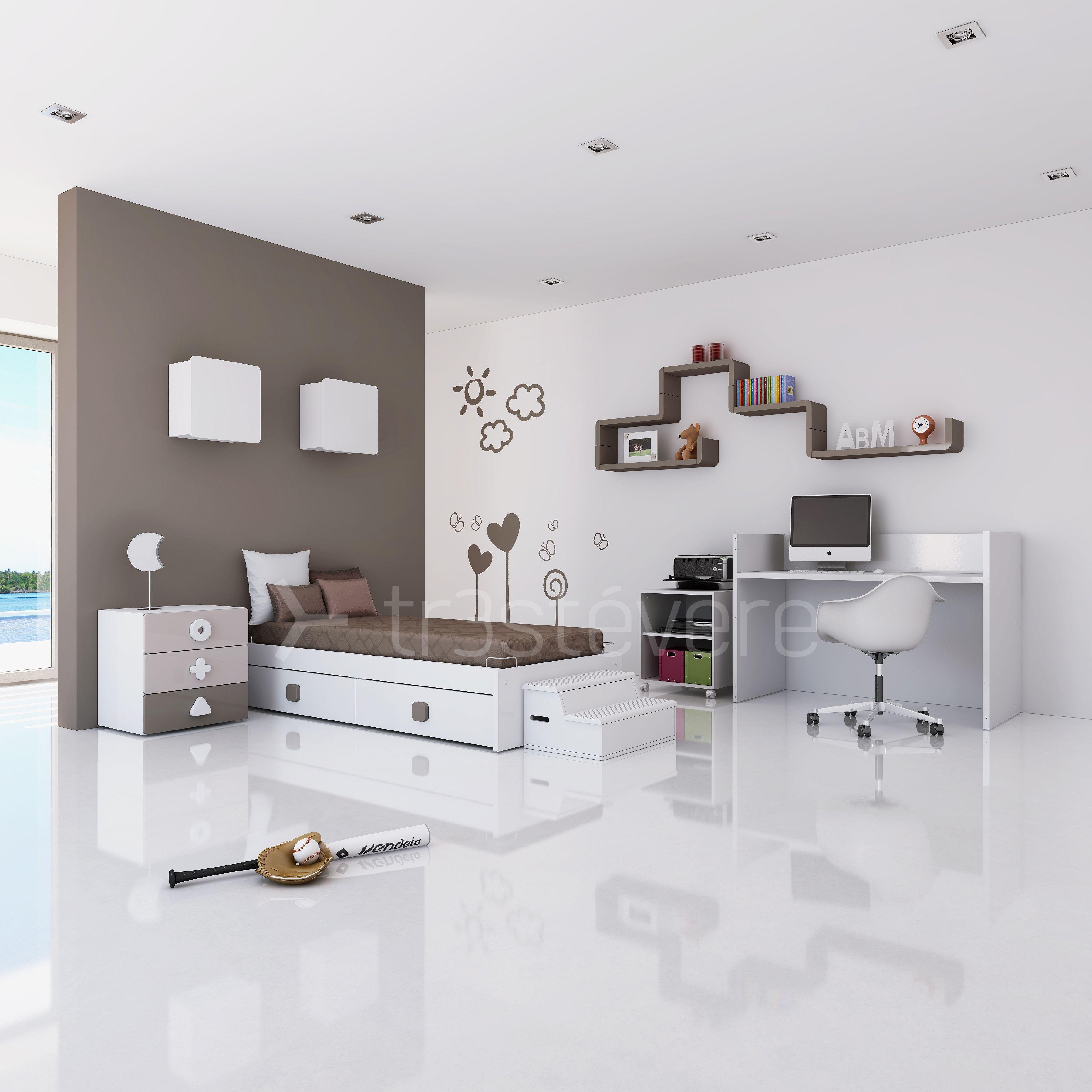 Mueble infantil K550 juvenil. Diseño mobiliario www.alondra-infantil ...