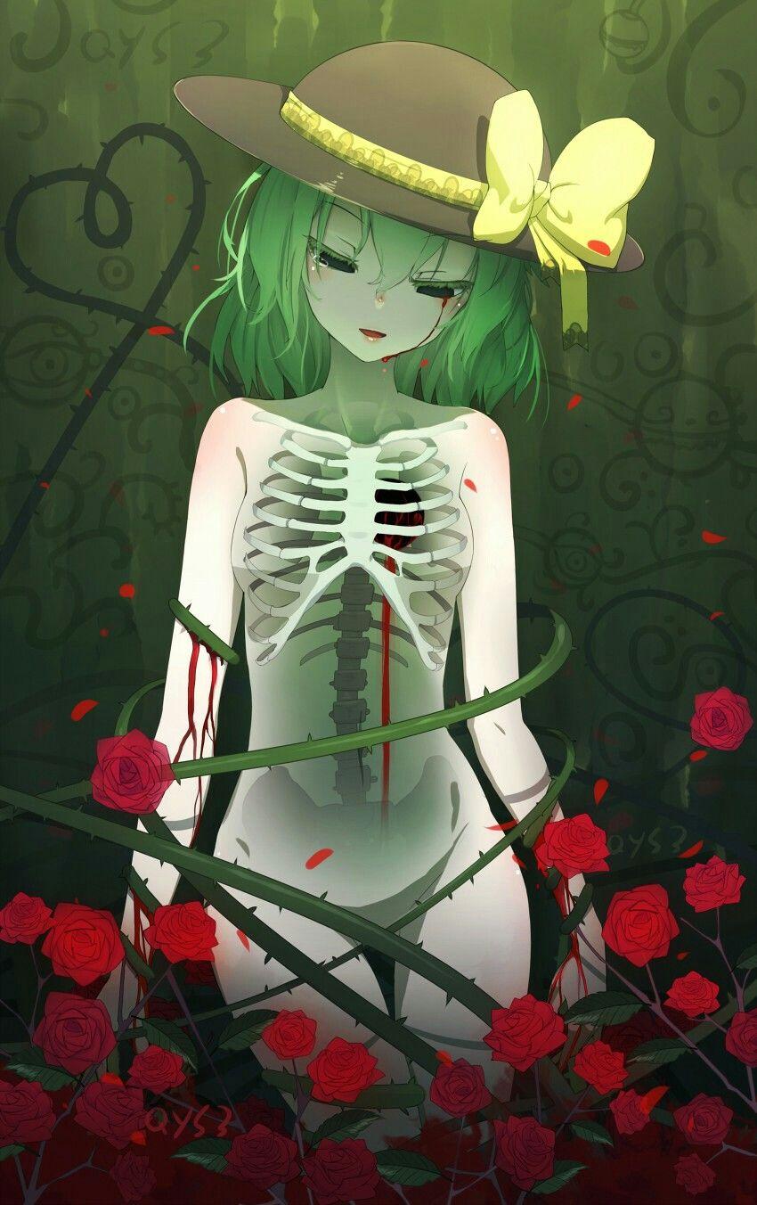 Sᴛʏʟᴇ ɪɴᴘɪʀᴀᴛɪᴏɴ Anime Green Hair Green Hair Girl Anime Art Girl