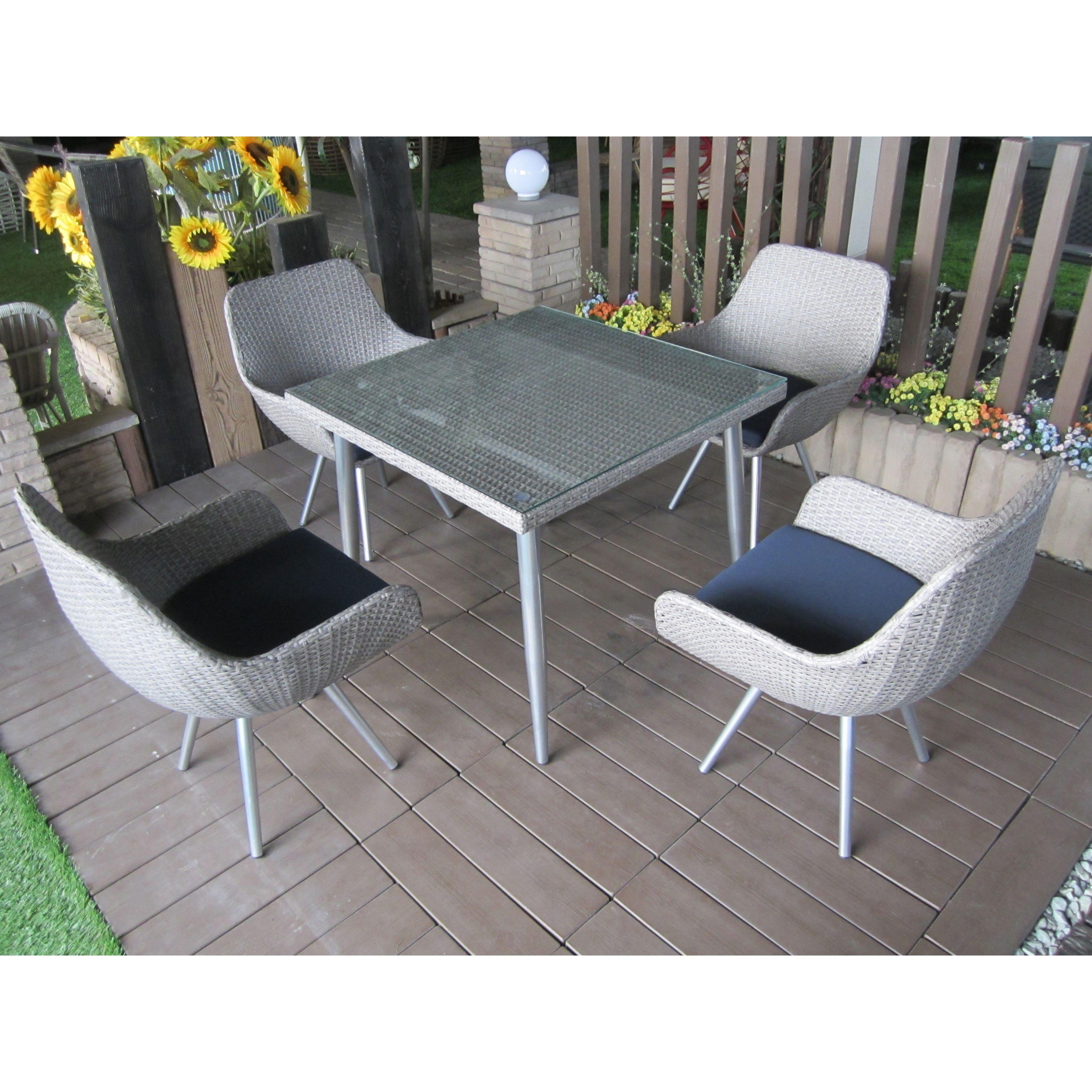 Vincent 5 Piece Outdoor Dining Set