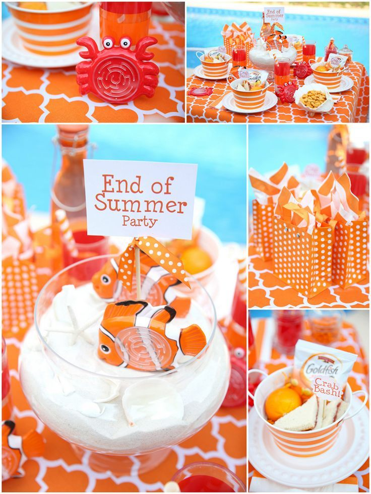 Throw A Fabulous Goodbye Summer Party Summer Fun Party Ideas