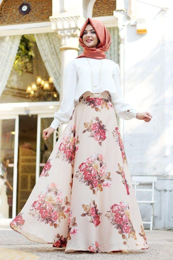 Moda Seyri Tesettur Elbise Abiye Bayan Giyim Elbise Islami Giyim Giyim