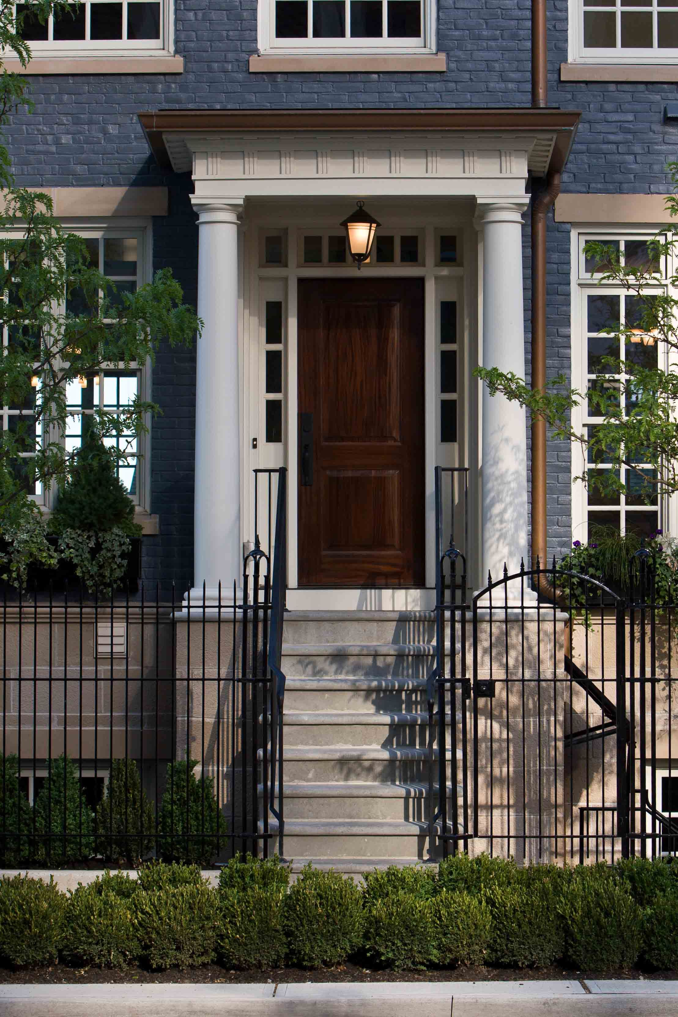 DSCN5103 All Finished | Front porch steps, Front door ... |Wood Stoop Construction Ideas