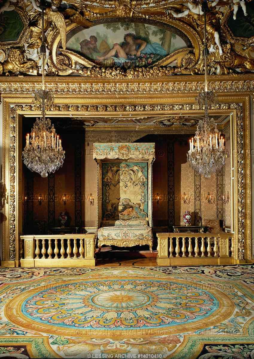 La Chambre De Louis Xiv Every Chateau Had A Chamber Or In Vaux S Case An Entire Wing