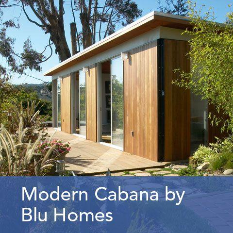 Modern cabana blu homes