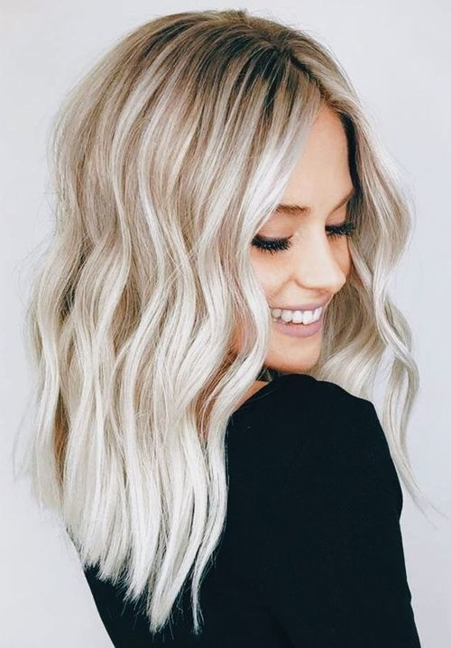 Tremendous Medium Blonde Blunt Hairstyles for Women To Mesmerize Anyone | Trendy Hairstyles