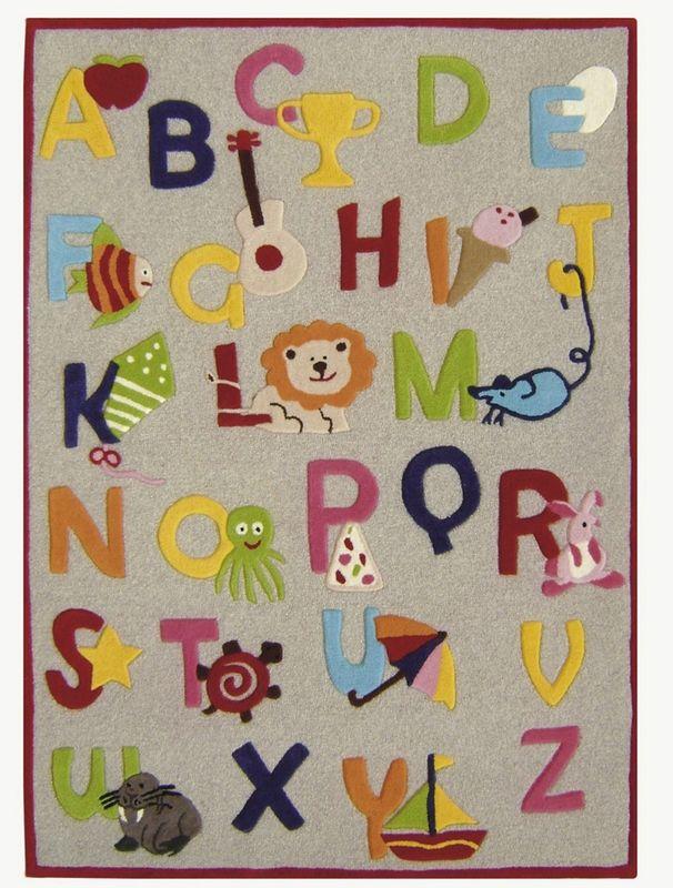 Kinderloom Alphabet Rug Rosenberryrooms