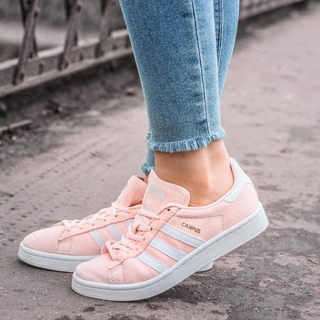 online store 4192e 96db9 Say hello to my new obsession - my pink Adidas Campus trainers. However  they may
