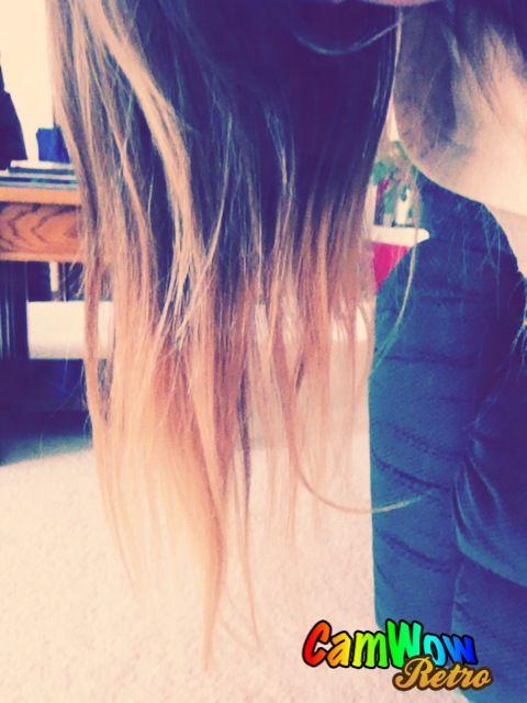:D my hair