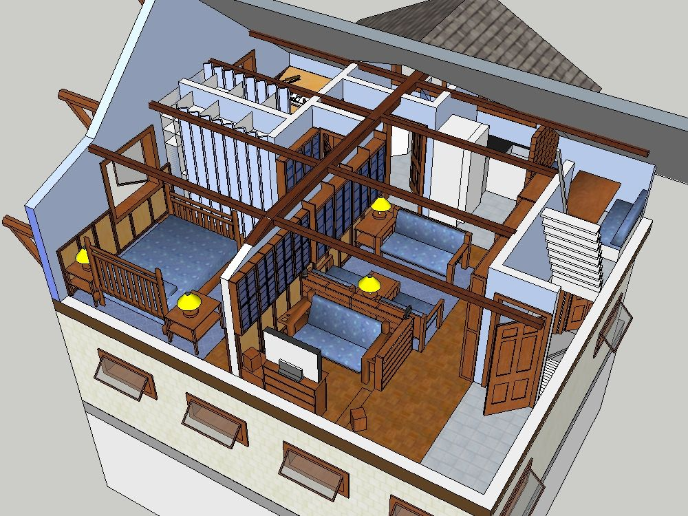 Sketchup Tutorial Edges To Rubies Architecture Presentation