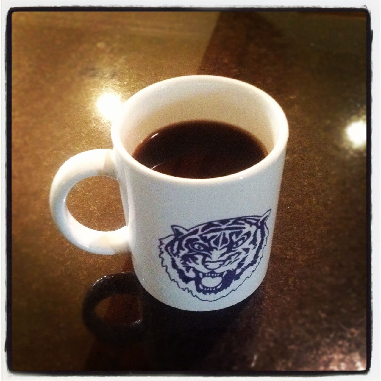 Coffee 365 Another Day In Baton Rouge Another Lsu Coffee Mug And To Keep It All Local I M Drinking Louisiana Coffee Branding Community Coffee Dark Roast
