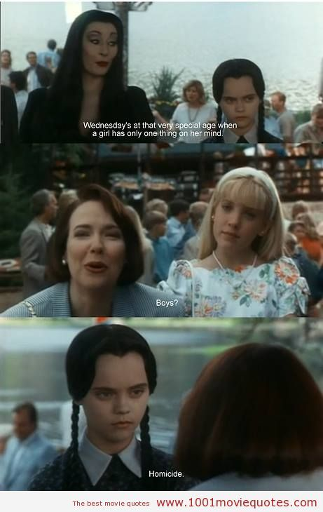 Addams Family Values (1993) - movie quote   Movie quotes ...  The Addams Family Movie Quotes