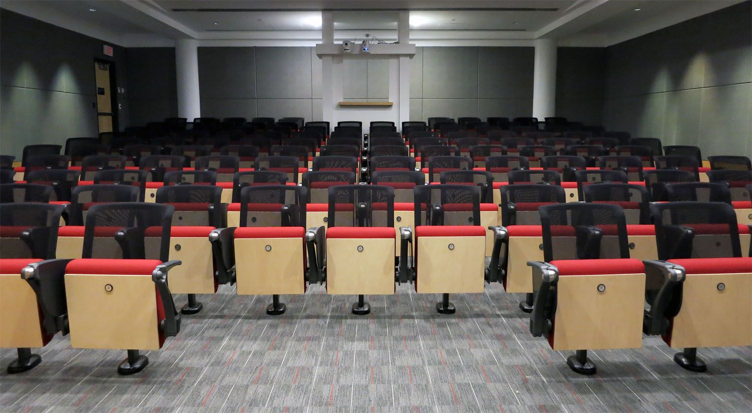 Sedie Auditorium ~ Introducing the ft20 mesh back. pictured: mason gross school of