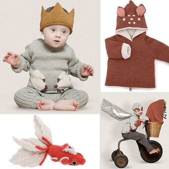 We Can T Get Enough Of Oeuf S Witty Knits For Fall Baby