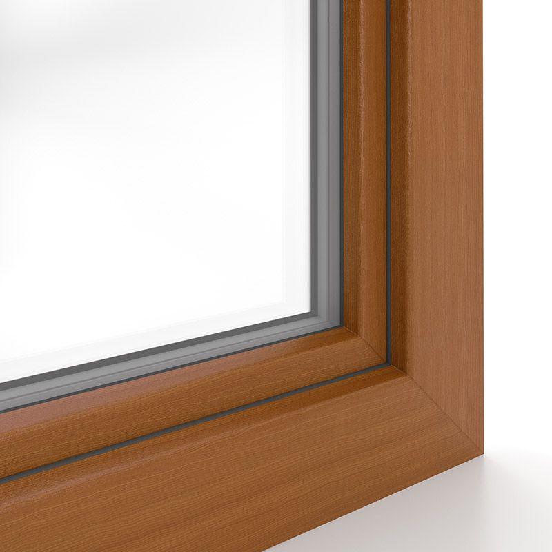 Sonderdekor Douglasie Fensterrahmen Dekor Fenster
