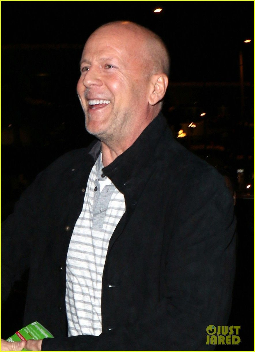 Bruce Willis: Saturday Night Dinner with Christian Slater | bruce willis saturday night dinner christian slater 10 - Photo