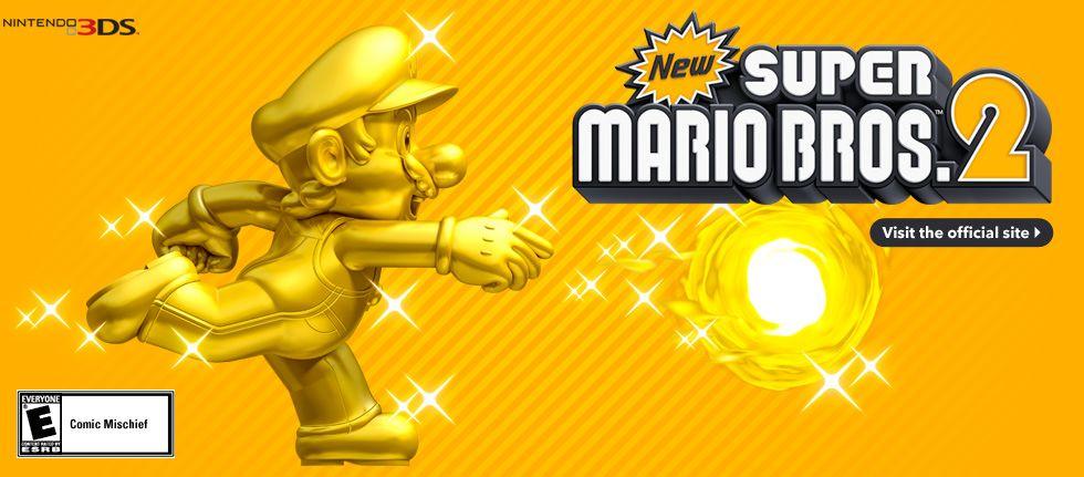 New Super Mario Bros  2 | Gaming | Mario bros, Super mario