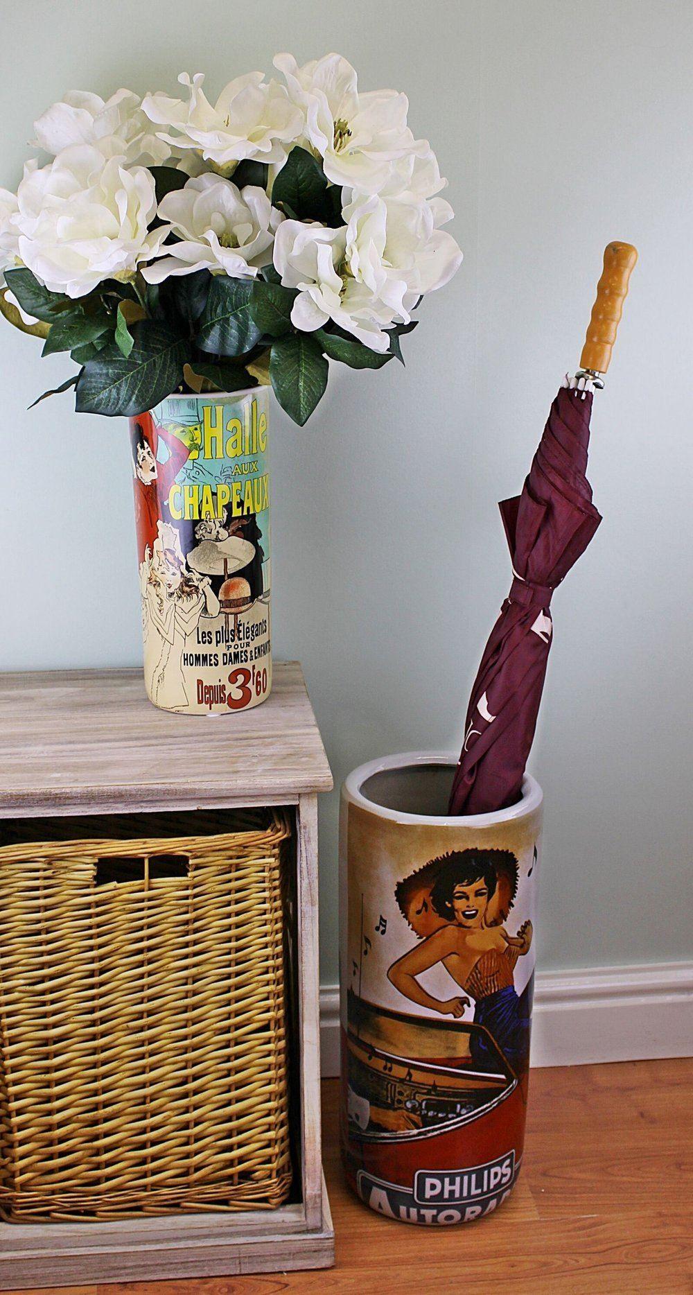 Vintage Philips Cassette Umbrella Stand