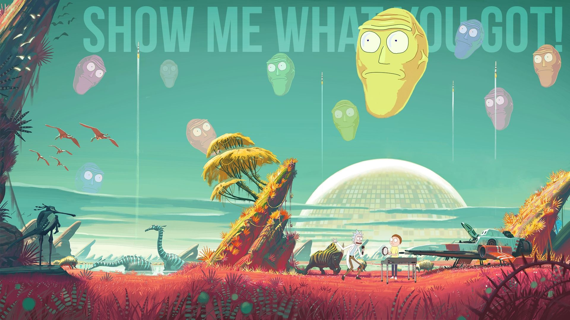10 Most Popular 1080p Rick And Morty Wallpaper Full Hd 1920 1080 For Pc Background Rick And Morty Cartoon Wallpaper Rick And Morty Poster