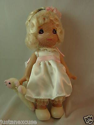 "Precious Moments Ewe So Sweet Linda Rick 9"" Signing Event Doll #5129 Signed #PreciousMoments #VinylDoll"