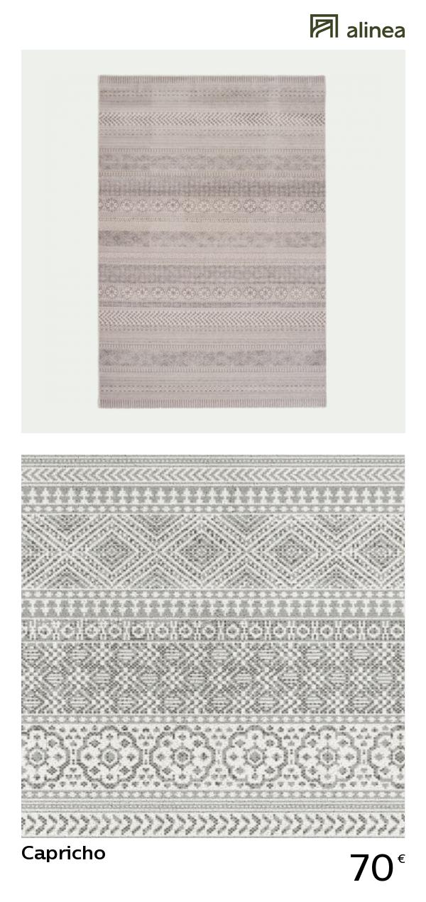 tapis alinea gris enredada
