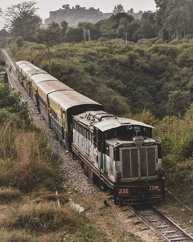Image result for Kangra Valley Railway