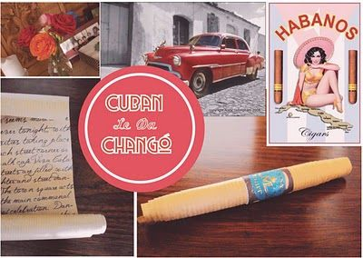 Cigar invitations for a Cuban party