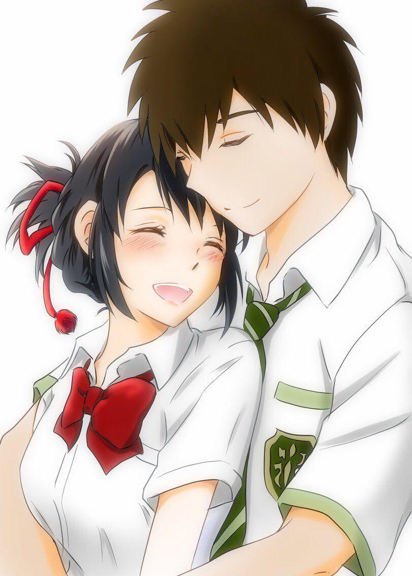 ️take🌙☘「織部美月は恋を識る」 on Kimi no na wa, Mitsuha, taki, Anime