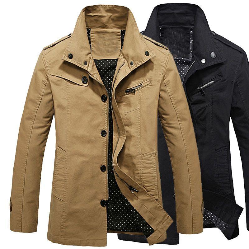Light khaki army jacket 8lNvQcvK2s