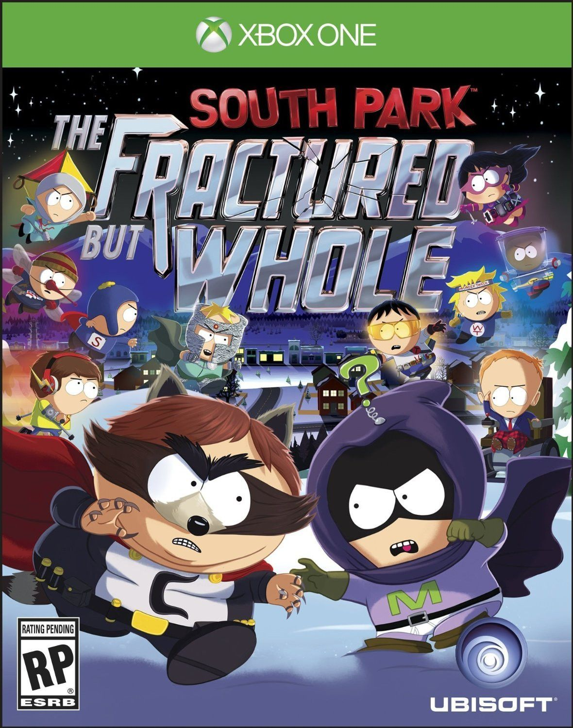 South Park The Fractured But Whole Pre-Order Xbox One Physical Game Disc US