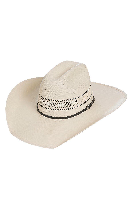 Stetson 10X Wheeler Vent Straw Cowboy Hat