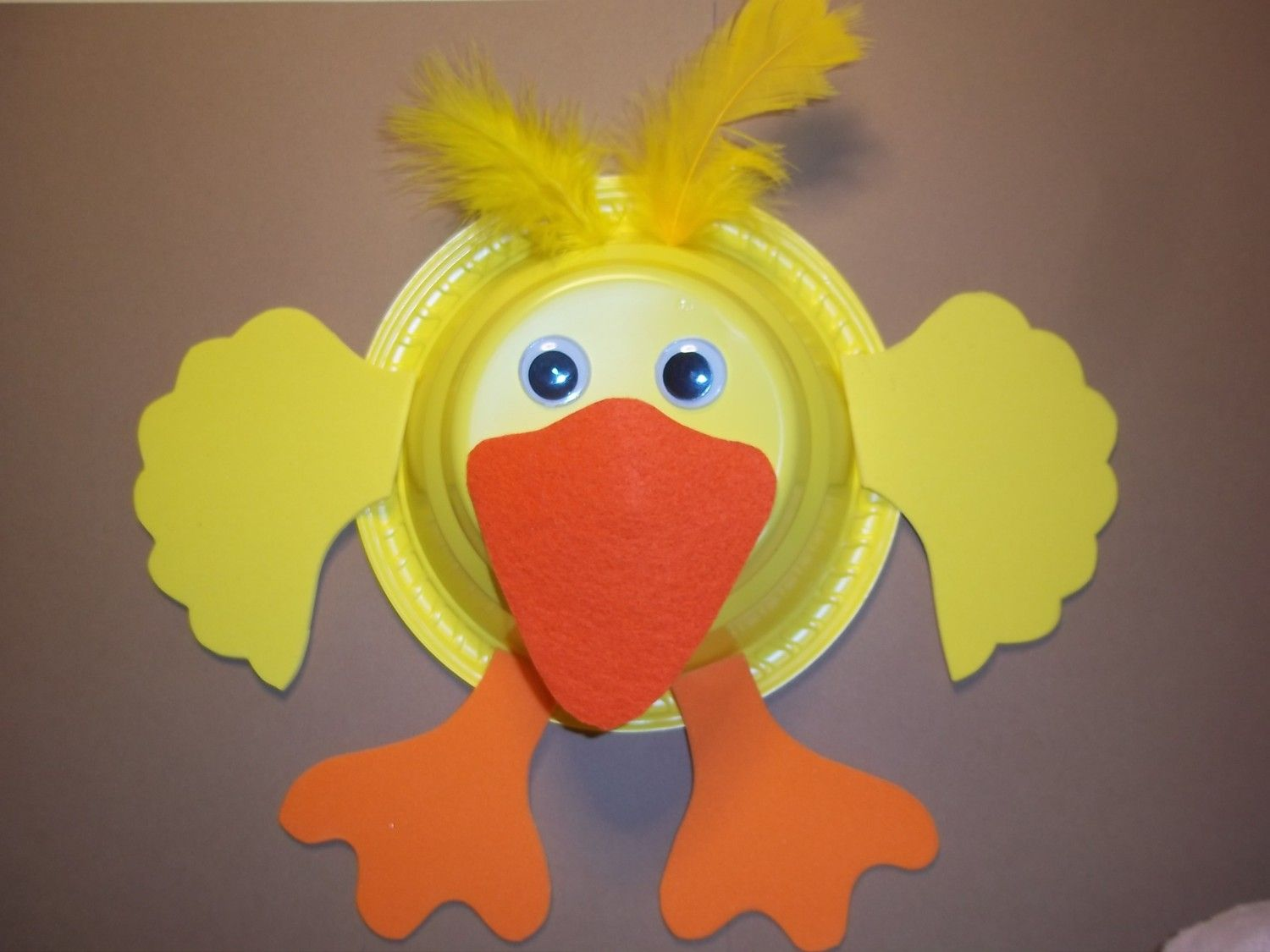 D Is For Duck Craft 3 75 Via Etsy
