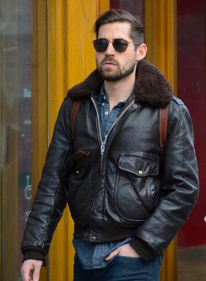 Leather Flight Jackets Leather Flight Jacket Black Leather Biker Jacket Hipster Mens Fashion