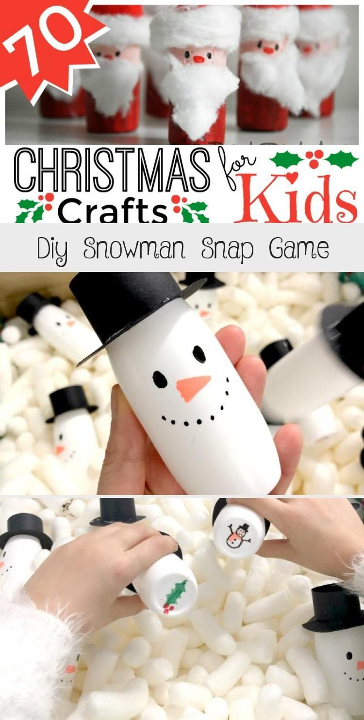 Diy Snowman Snap Game DIY Snowman Snap Game  how to make a snowman snap or snowman memory game for kids Great Christmas School Fair Game and Activity