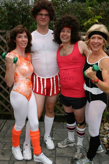 Richard Simmons Couple Costume