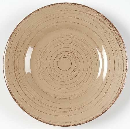 Tag Ltd Sonoma-Tan Salad Plate, Fine China Dinnerware by Tag Ltd. $5.99. Tag Ltd - Tag Ltd Sonoma-Tan Salad Plate - Ironstone,All Tan,Rustic,Brown Edge