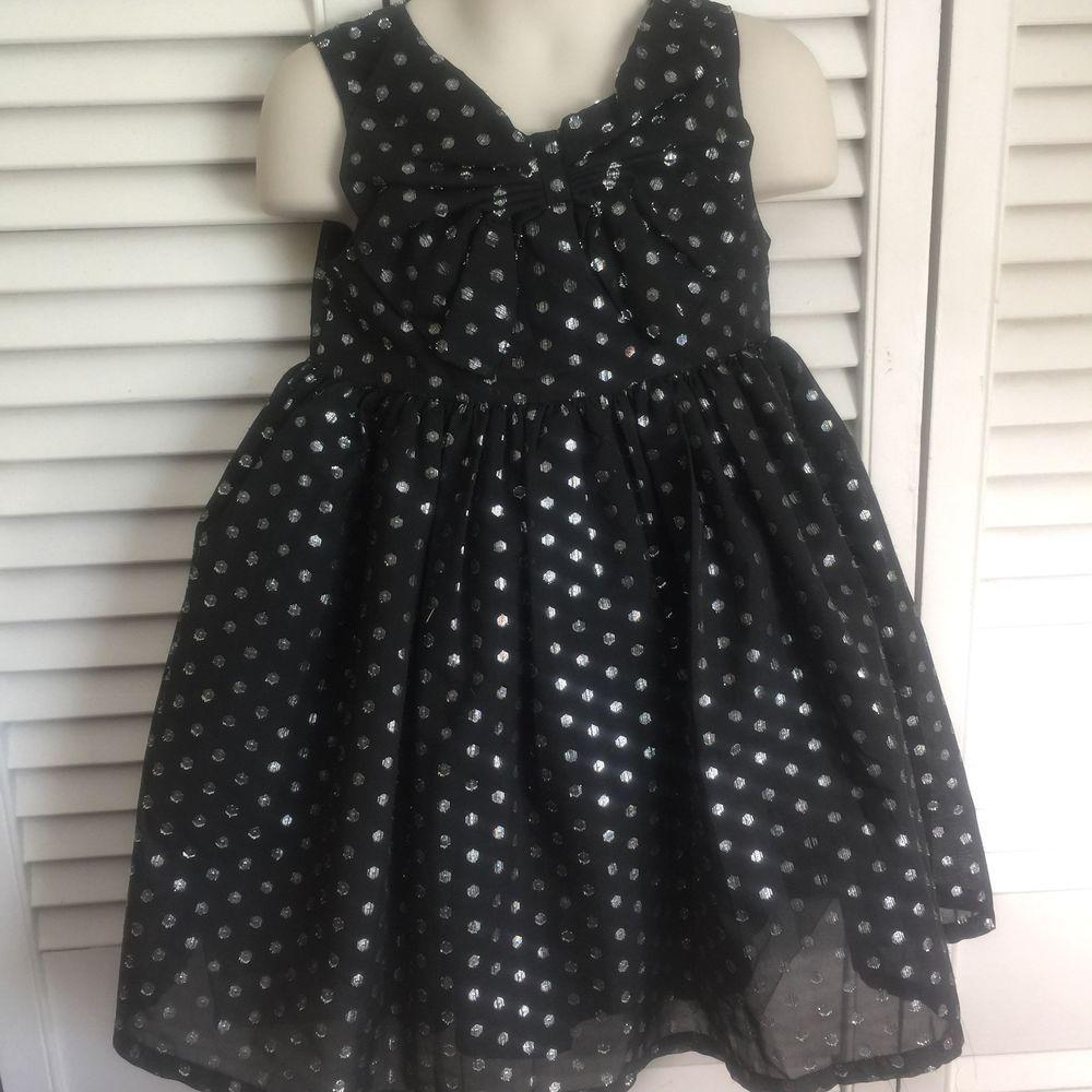 Gymboree Dress Toddler Girls 3t Black Silver Glittery Dots Holiday Sleeveless Ebay Toddler Girl Dresses Toddler Dress Gymboree Dresses [ 1000 x 1000 Pixel ]