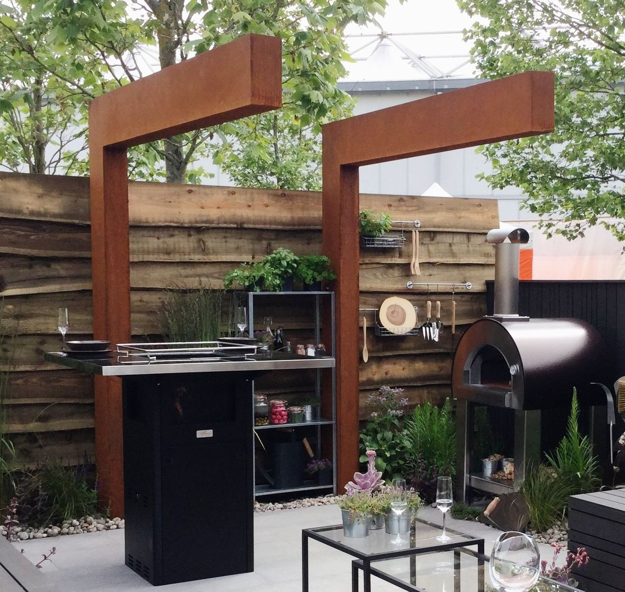 How To Make Your Garden Feel More Intimate With a Pergola is part of Home garden Pergolas - We explain how adding a pergola can create the feeling of intimacy and privacy in your garden
